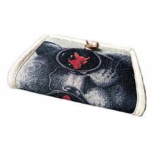 Текстильный кошелек Кот в очках, фото 2