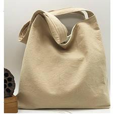 Летняя текстильная сумка. Светло-бежевый, фото 2