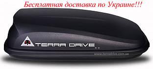 Грузовой бокс Terra Drive 320 Черный правостороннее открытие