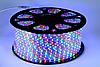 Светодиодная лента LED 5050 RGB разноцветная бухта 100 метров 220V, фото 3