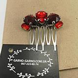 Гребінь Червоний Міні-прикраса у зачіску, фото 10