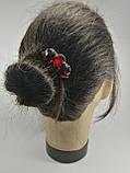 Гребінь Червоний Міні-прикраса у зачіску, фото 8