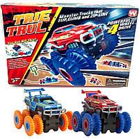 Двойной комплект Trix Trux 903. Канатный трек - конструктор. Трасса МОНСТР ТРАКИ, фото 1