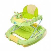 Ходунки детские TILLY 6221SY GREEN с качалкой, фото 1