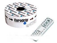 Капельная лента Eurodrip (Евродрип) 8 mils 30 см 1,6 л/ч 2500 м. с жестким эмитером