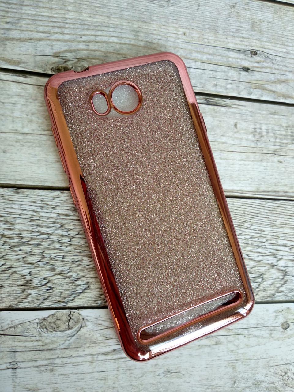 Чехол Xiaomi Mi 6 Silicone Remax Glitter Air series Pink