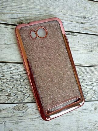 Чехол Xiaomi Mi 6 Silicone Remax Glitter Air series Pink, фото 2