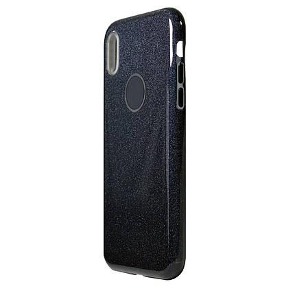 Чехол Huawei Honor 7C Pro Silicon + Plastic Dream Black, фото 2
