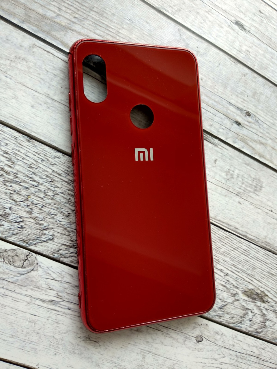 Чехол для Xiaomi Redmi Note 6/6Pro Silicone London (L1) red