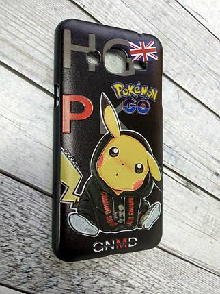 """Чехол для Samsung J3/J300 Plastic 3D """"Pokemon Go"""" """"GNMD"""", фото 2"""