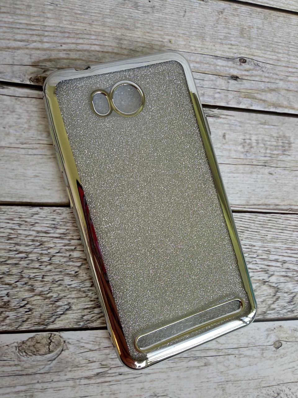 Чехол для Xiaomi Mi 6 Silicone Remax Glitter Air series Silver