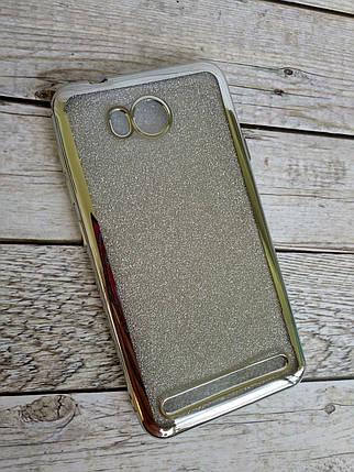 Чехол Xiaomi Mi 6 Silicon Remax Glitter Air series Silver, фото 2