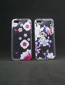 Чехол для Xiaomi Redmi Note 4X Silicone Fashion Diamond цветы