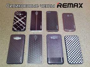 "Чехол Huawei Y5C Silicon Remax ""Tweed"""