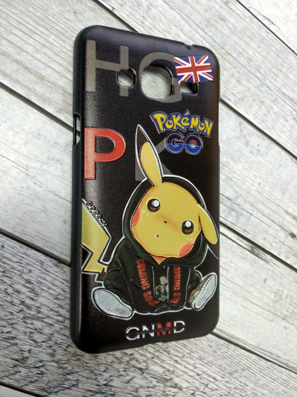 "Чехол для Xiaomi Redmi 3 Pro Plastic 3D ""Pokemon Go"" ""GNMD"""