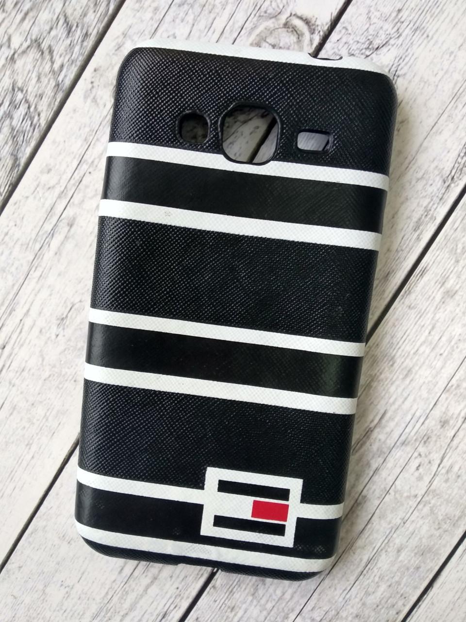 "Чехол для Samsung J5 Prime Silicone (плотный) ""Tommy Hilfiger"" black"