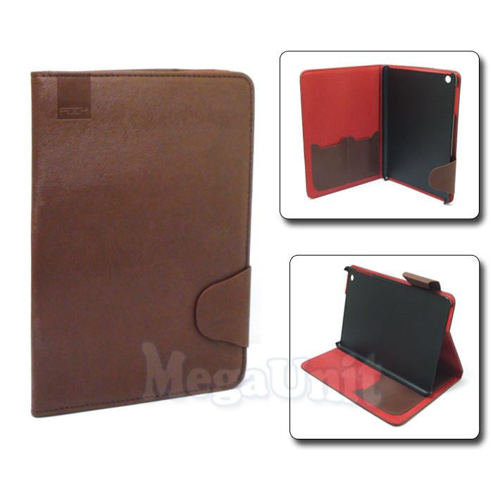 Rock чехол-книжка для Apple iPad mini 1/2/3 Коричневый