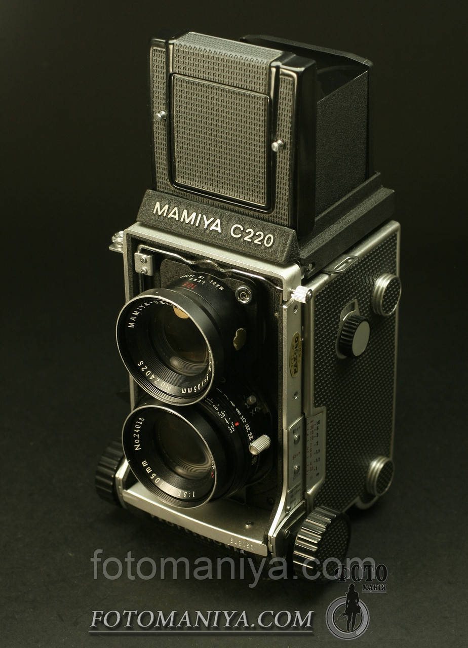Mamiya C220 kit Mamiya -Sekor 105mm f3,5D