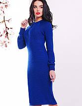 Вязаное женское платье-миди по фигуре (137 mrs), фото 3