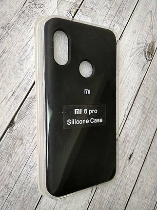 "Чехол Xiaomi Redmi 6 Pro/Mi A2 Lite Silicon Original Full №1 black ""Спец предложение!"", фото 2"
