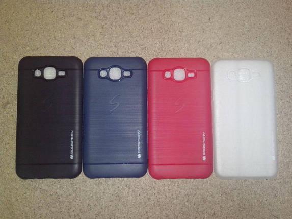 Чехол Samsung S6 Silicon Goospery черный (полиуретан), фото 2
