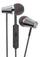 Навушники Golf M6 Little Trumpet black/grey (круглий шнур)