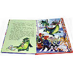 Новый год с дракончиком Пыхалкой (книга с пазлами), фото 4