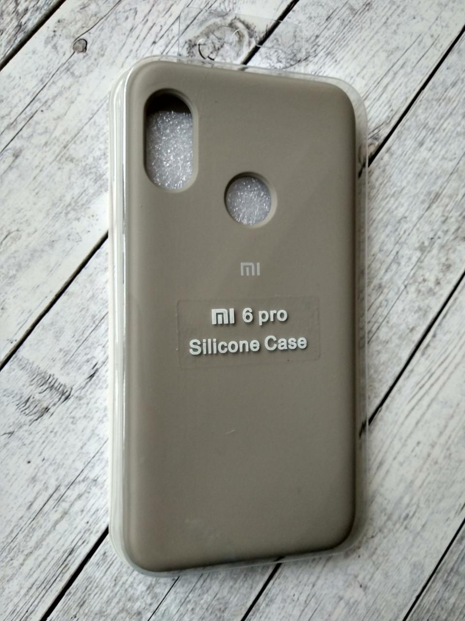 "Чехол Xiaomi Redmi 6 Pro/Mi A2 Lite Silicon Original Full №11 dark olive ""Спец предложение!"""