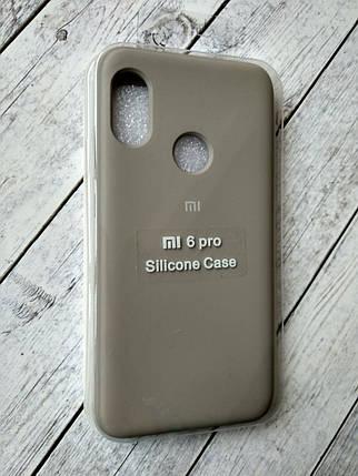 "Чехол Xiaomi Redmi 6 Pro/Mi A2 Lite Silicon Original Full №11 dark olive ""Спец предложение!"", фото 2"