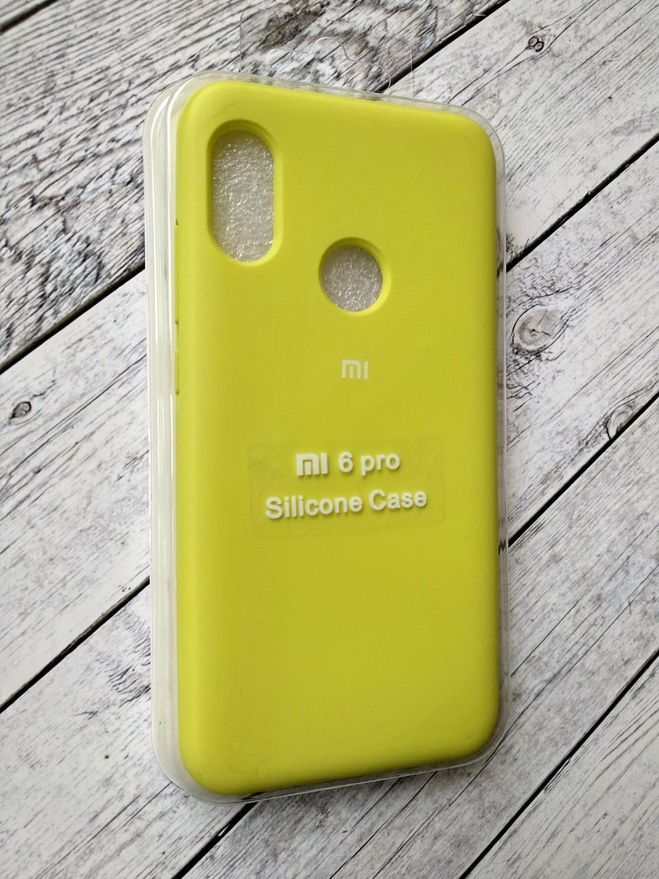 Чехол для Xiaomi Redmi 6Pro/Mi A2 Lite Silicone Original Full №8 flash