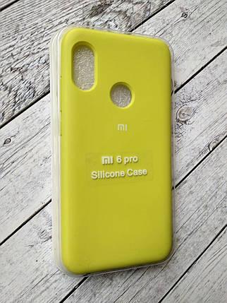 Чехол для Xiaomi Redmi 6Pro/Mi A2 Lite Silicone Original Full №8 flash , фото 2