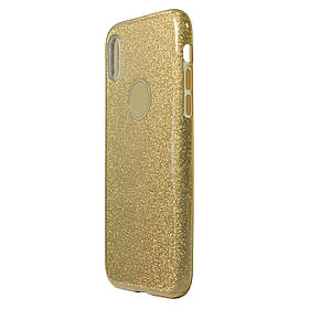 Чехол Huawei Honor 7A Silicon + Plastic Dream Gold