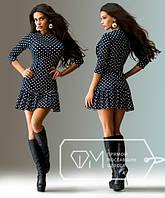 """Стильное молодежное платье мини """" Французский трикотаж """" Dress Code"""