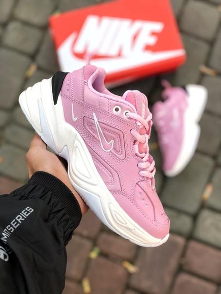 f03c7a3b Кроссовки женские Nike M2k Tekno (розовые) - Интернет-магазин стильной  одежды и обуви