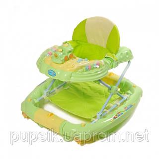 Ходунки детские TILLY 6222SY GREEN с качалкой