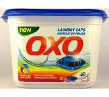 Капсулы гелевые для стирки цветных вещей OXO 20 шт