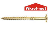 Шуруп усиленный для дерева типа SPAX Wkret-Met WKCP 8x100 (упаковка 50 шт.)