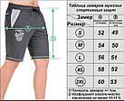 Мужские шорты «BROOCLYN» джинс, фото 6