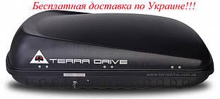 Грузовой бокс Terra Drive 420 черный правостороннее открытие