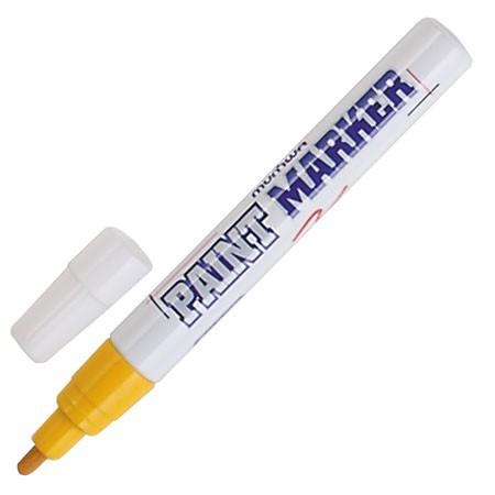 Маркер Munhwa PM-08 2-3 мм желтый paint marker