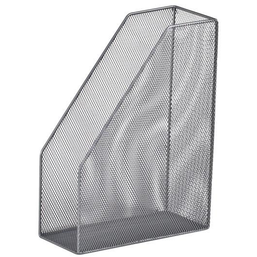 Лоток вертикальный Buromax BM.6260-24 металлический серебряный