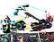 Конструктор JVToy, Безумные гонки, серия Герои ниндзя, фото 2