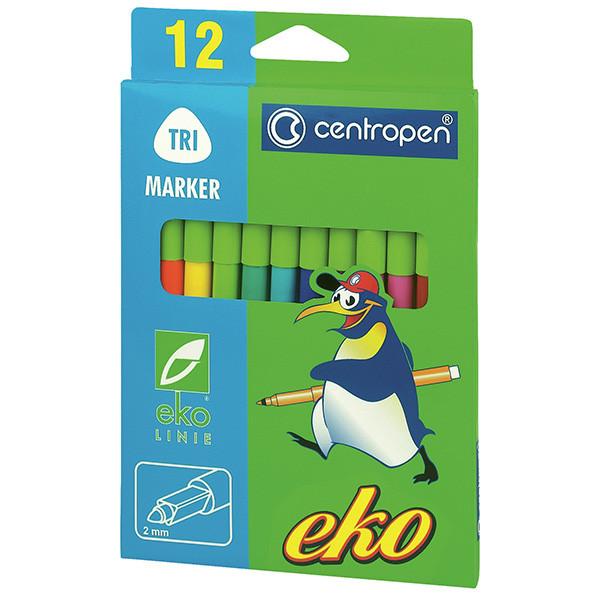 Фломастеры Centropen Eko 2560 12 цв