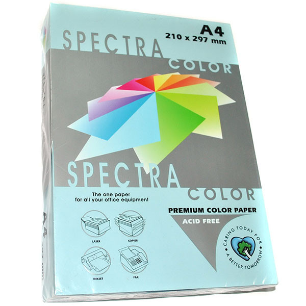 Бумага цветная А4, 80 г/м2 - Spectra Color IT 120 Ocean, светло-голубой 500 листов