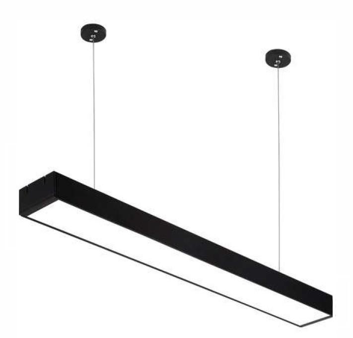 Nami LINE-1500: 50W 5000Lm линейный LED-светильник (85х120х1500мм)