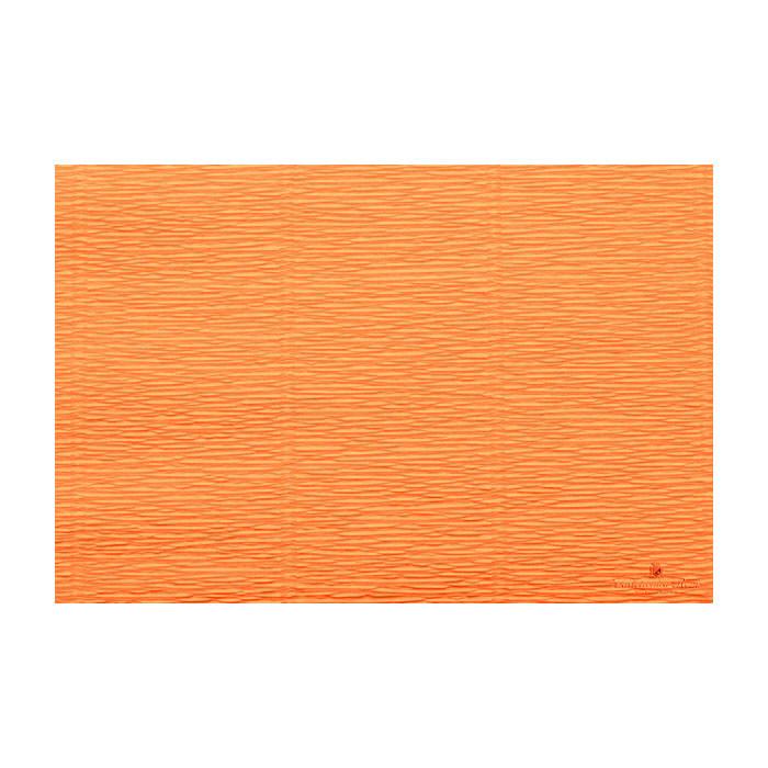 Креп Cartotecnica Rossi 610 50*250 см 144 г/м2 Orange - Pumpkin оранжевый