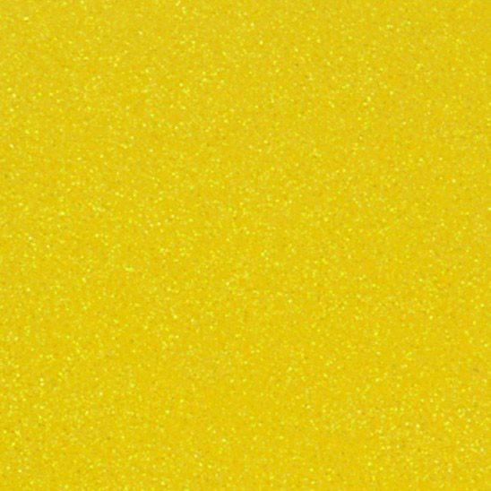 Фоамиран EVA с глиттером желтый А4, самоклейка, 1,8 мм, 10 штук в упаковке, Kidis 8683