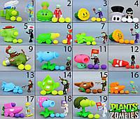 Растения против зомби | Plants vs Zombies 49 Видов (Растения стреляют шариками в зомби)