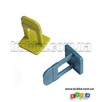 Зажимы (основы) свп со швом 2мм поштучно
