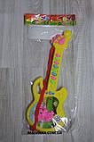 Гитара музыкальная арт 688 ,батарейки,30 см., фото 4